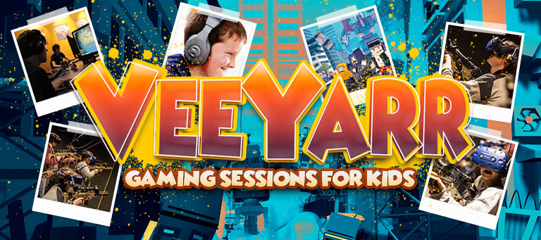 VeeYarr: Gaming sessions for kids