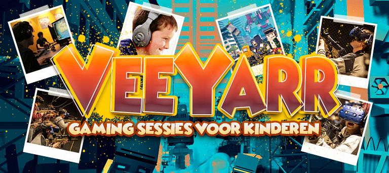 VeeYarr Gaming Sessies voor Kinderen